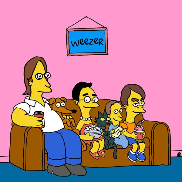 Simpsons_Weezer