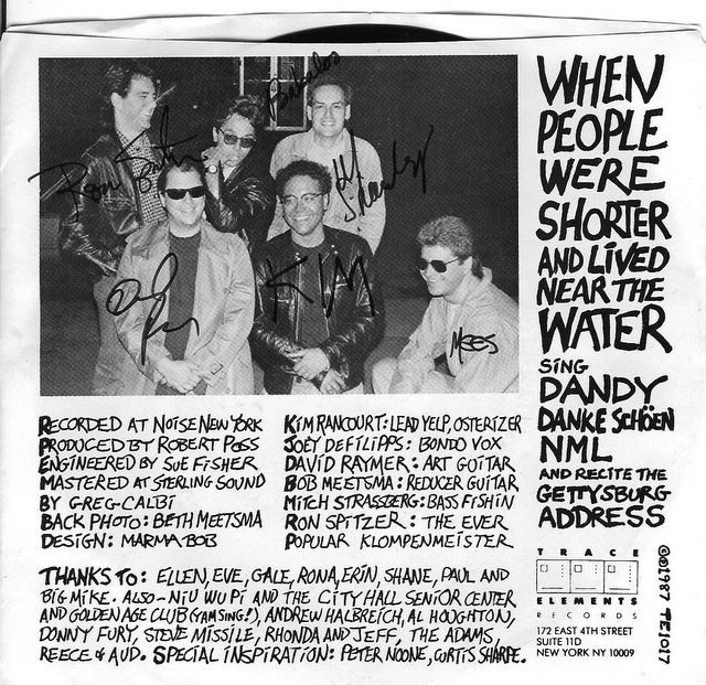 When People Were Shorter and Lived Near the Water