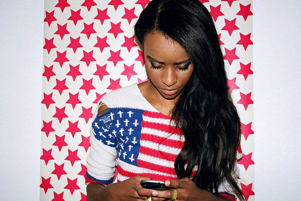 angelhazeflag Listen: Angel Haze freestyles over Kanye Wests Black Skinhead