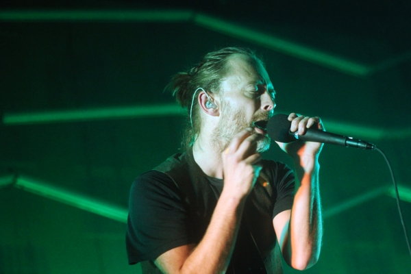 atoms1 Thom Yorkes Atoms for Peace shakes up Brooklyns Barclays Center (9/27)