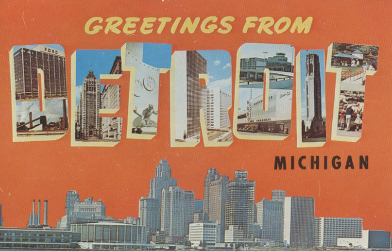 detroit mi postcard From an alley to Detroit: Laneway Festivals Danny Rogers tells all