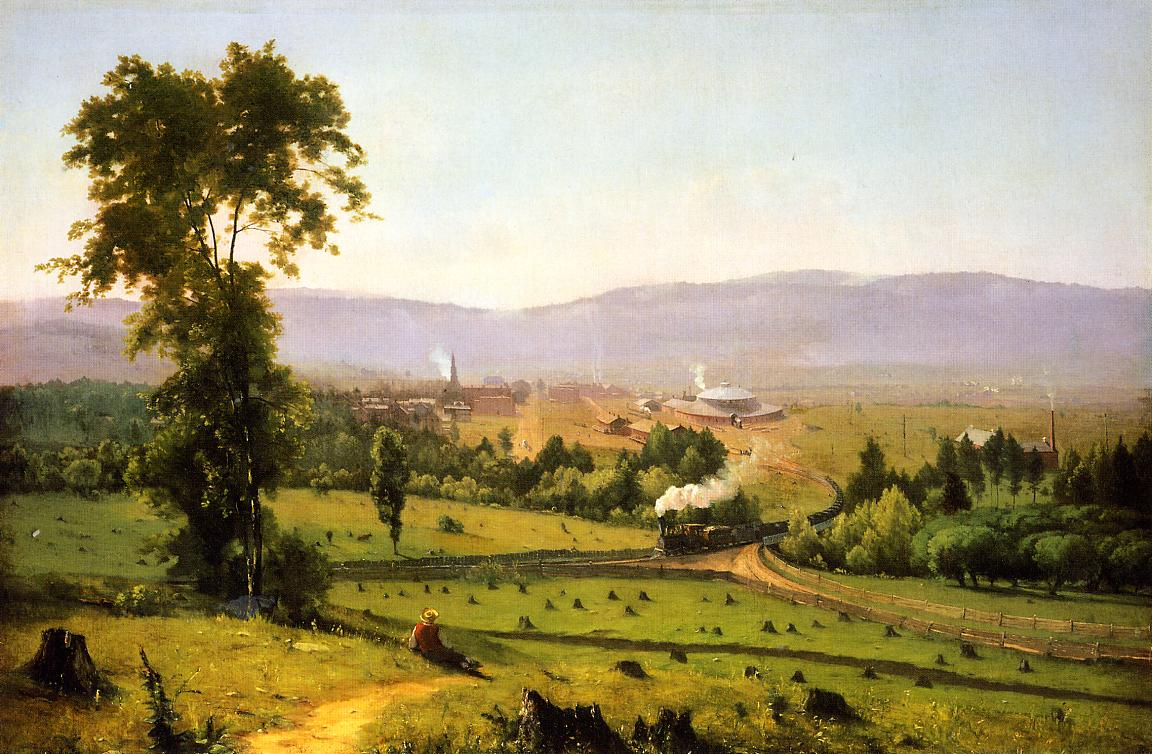 inness the lackawanna valley 1855 Bill Callahan: Caught in the Reeds with Americas Post Modern Patriot
