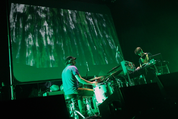 jamesholden5 Thom Yorkes Atoms for Peace shakes up Brooklyns Barclays Center (9/27)