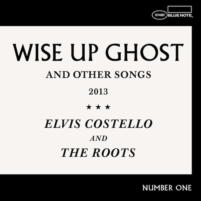 rootscostellocover Stream Elvis Costello and The Roots collaborative album, Wise Up Ghost