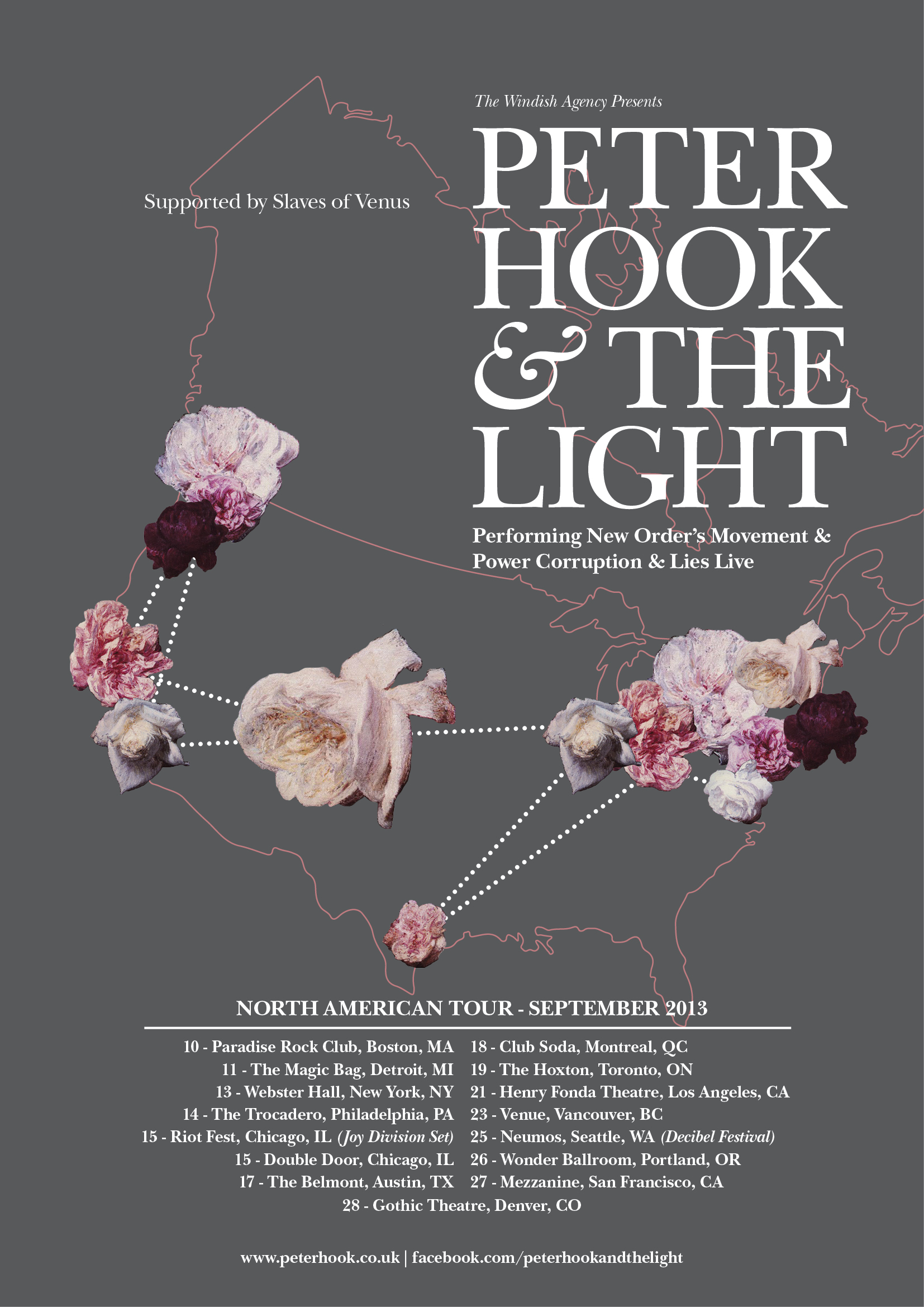 The Light North American Tour Sept 2013 Includes Riot Fest Aftershow (2)