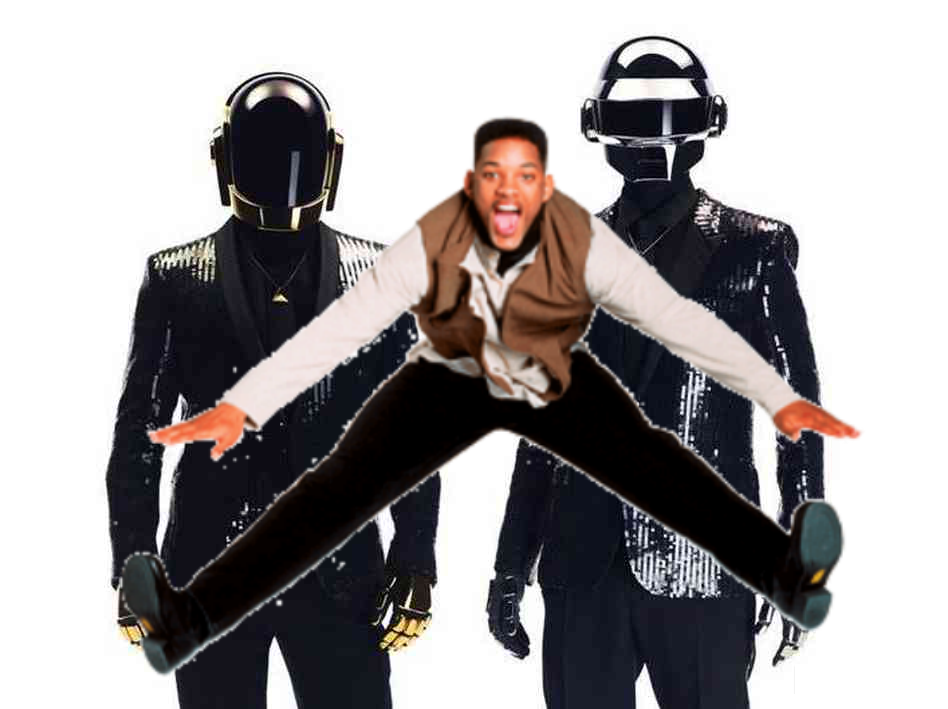 willsmithdaft Get Lucky Wit It, the Daft Punk Will Smith mash up and even more ridiculous video