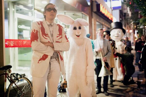 arcade fire dress up Arcade Fire issue statement on controversial dress code
