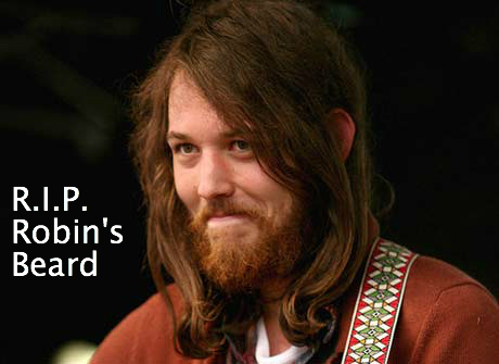 beard Robin Pecknold shaved his beard