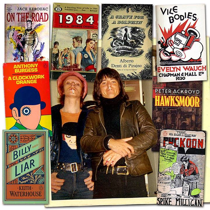 bowie books David Bowies 100 favorite books