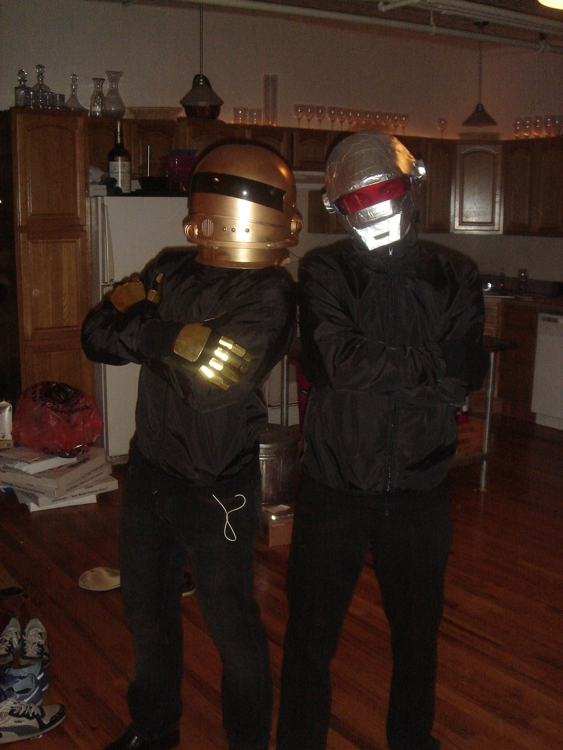 daftpunk1 Halloween Costume Ideas: Be Your Favorite Musican