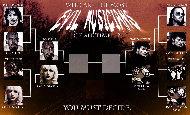 evil musicians round 2