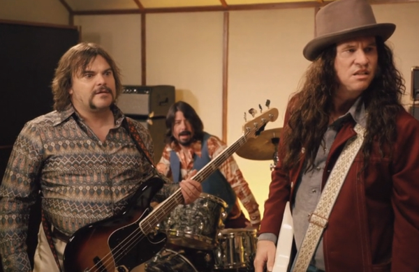 ghostghirls Watch Dave Grohl, Jack Black, and Val Kilmer perform together as Sweetriver and the Huckleberry Dogs