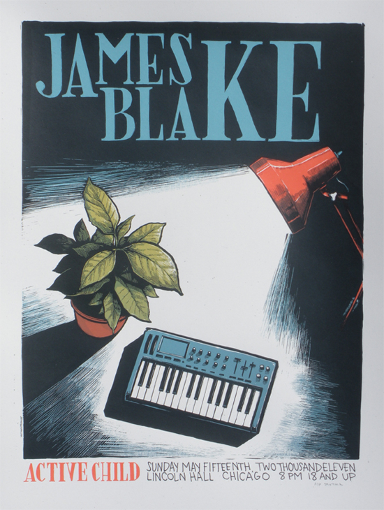jamesblake These Walls Can Talk: Our Favorite Concert Posters and Stories