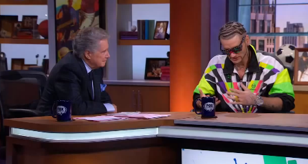 riffraffphilbin Regis Philbin had Wu Tang Clan and RiFF RaFF on his TV sports show