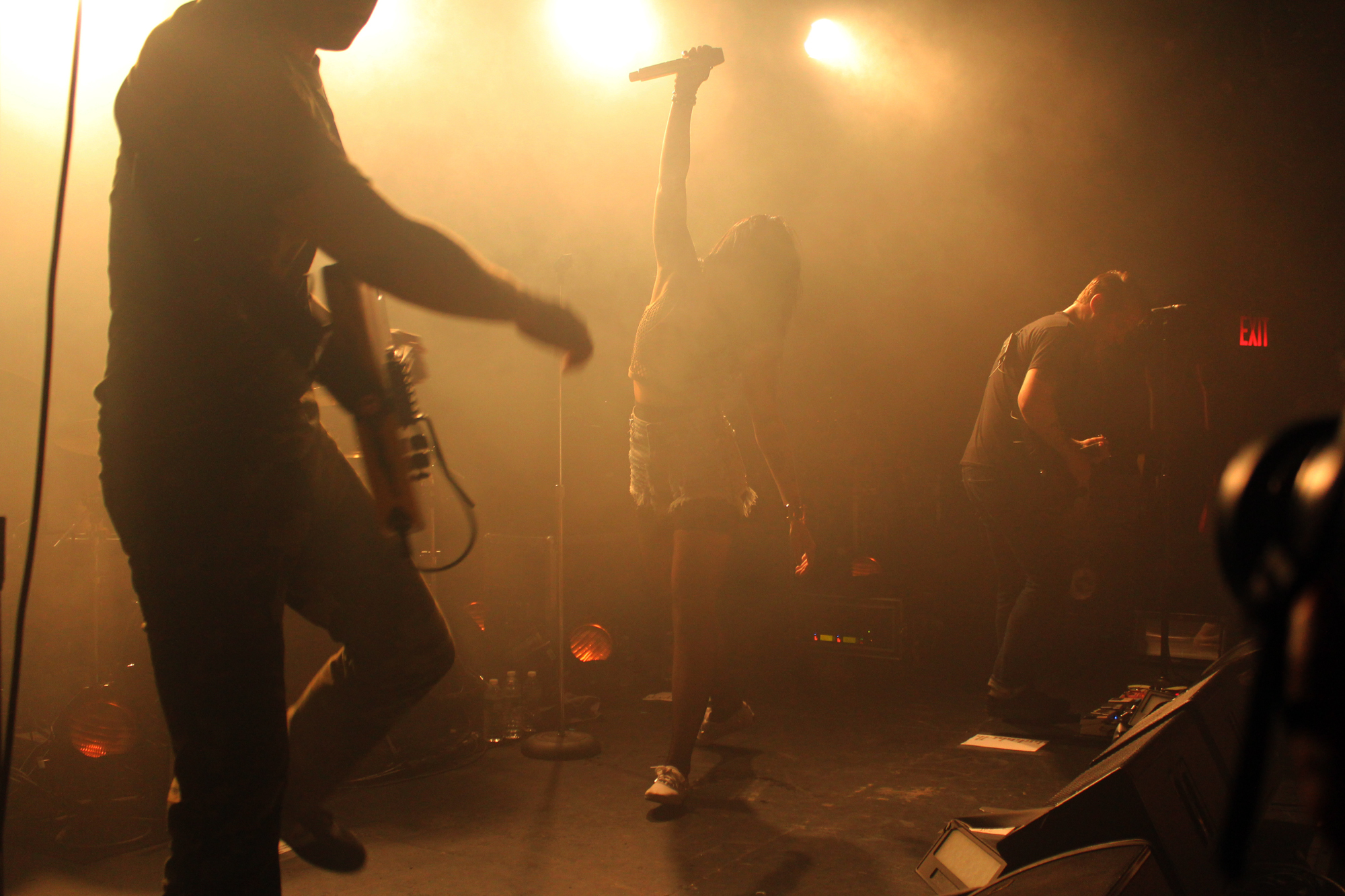 sleighbells8 Live Review: Sleigh Bells at NYCs (Le) Poisson Rouge (10/5)