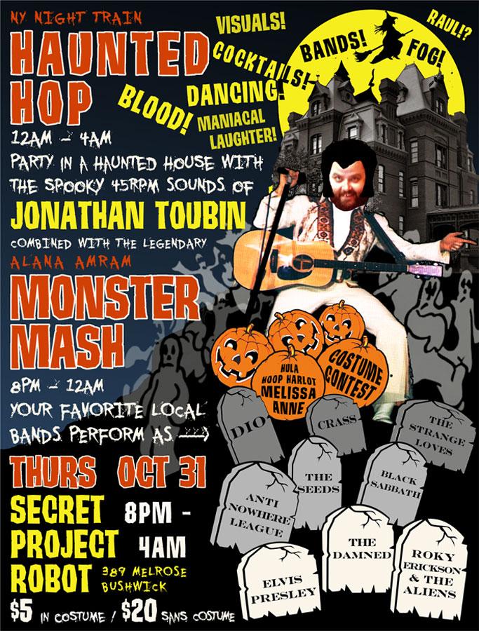 toubinhalloweenparty Listen to Jonathan Toubins 2013 Haunted Hop Halloween mix