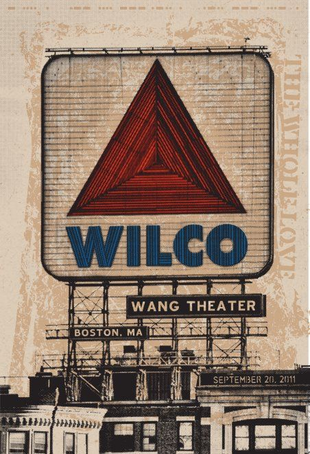 wilco wang These Walls Can Talk: Our Favorite Concert Posters and Stories