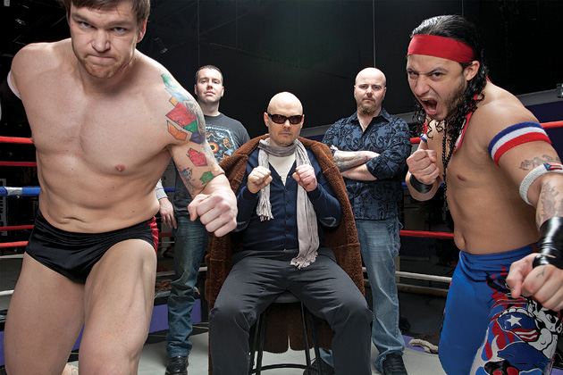 billycorganwrestlers Billy Corgan in talks to purchase TNA Wrestling