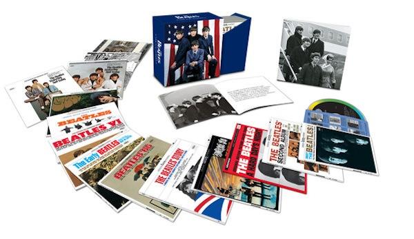 beatles us albums box