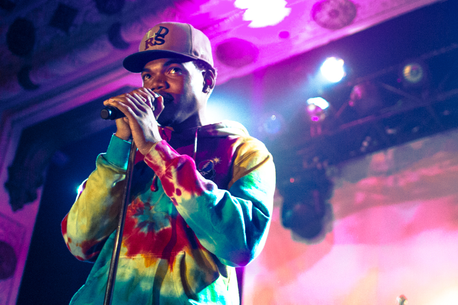 Chance the rapper larson