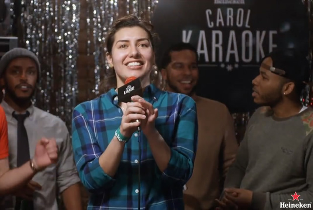 heinekencarol main The 10 Best Christmas Carols For Karaoke