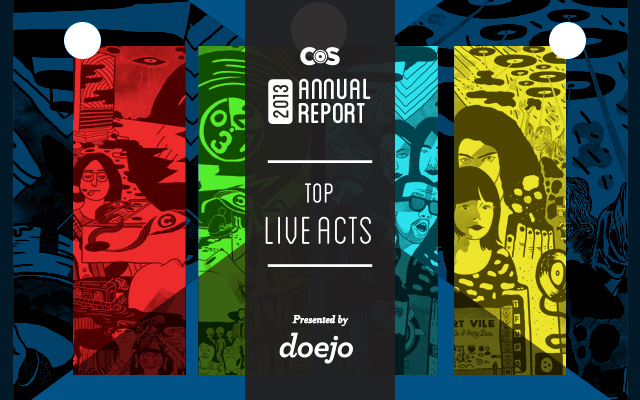 live Top Live Acts of 2013