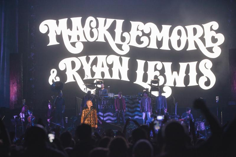 Macklemore & Ryan Lewis - Key Arena 12/12/13