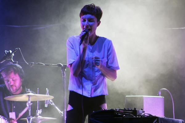 polica1 Video: Poliça performs on Kimmel