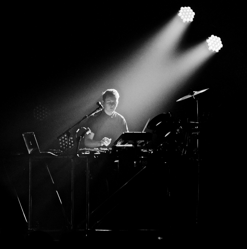 New York, NY- Jan. 17, 2014 Disclosure performing at Terminal 5