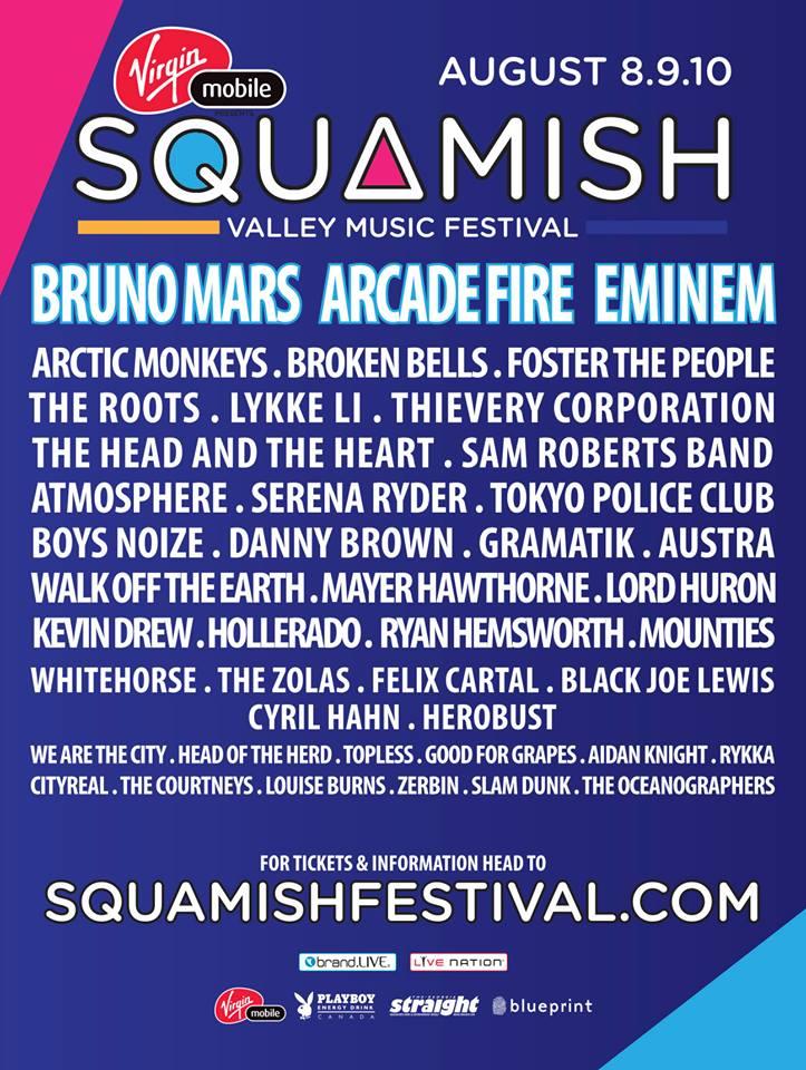 squamish lineup 2014