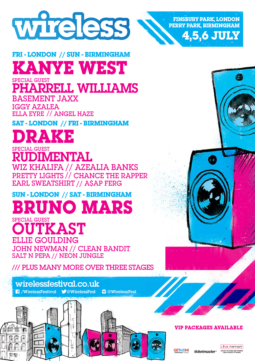 wireless festival 2014