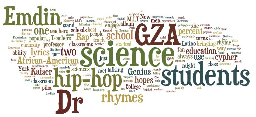 hip hop class Thoreau, Shakespeare, and Lil Wayne: An Inner City English Class