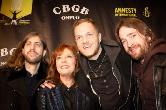 Susan Sarandon and Imagine Dragons