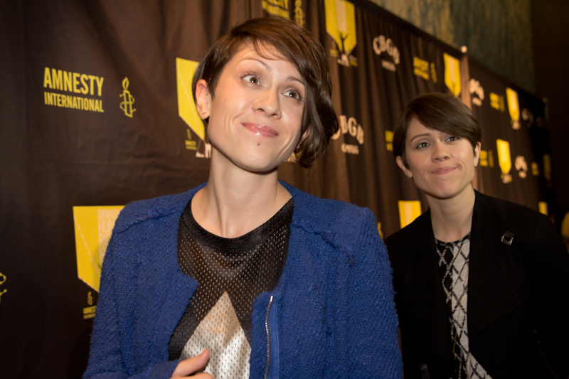 tegan and sara red carpet Tegan and Sara  Red Carpet