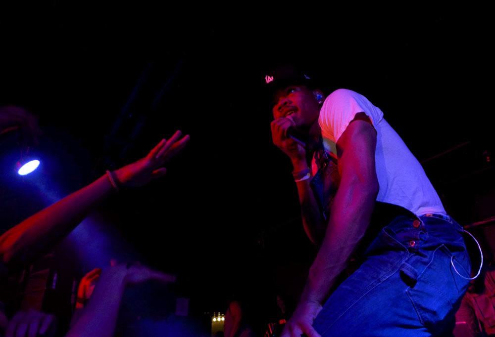 Chance the Rapper // Photo by Sasha Geffen