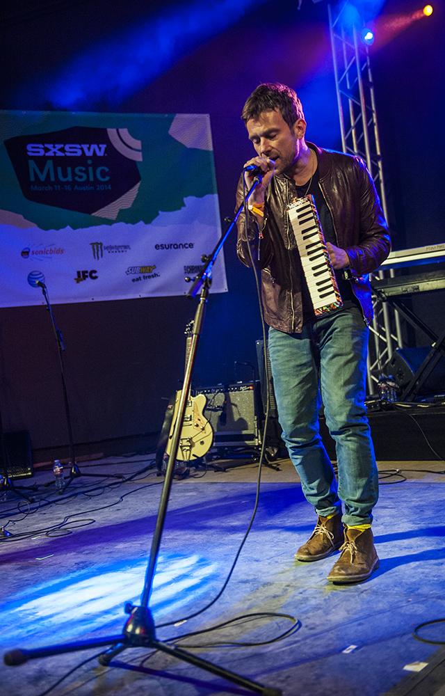 Damon Albarn // Photo by David Hall