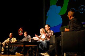 Futurama Writers // Photo by Cap Blackard