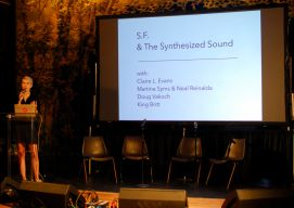Claire Evans Panel // Photo by Cap Blackard