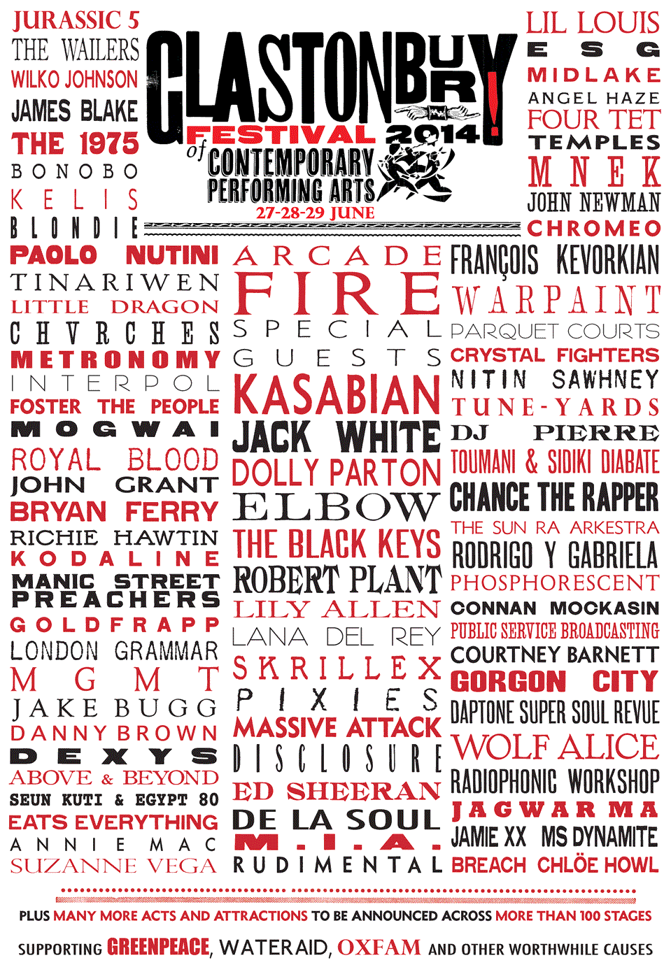 glastonbury2014 Glastonbury reveals 2014 lineup