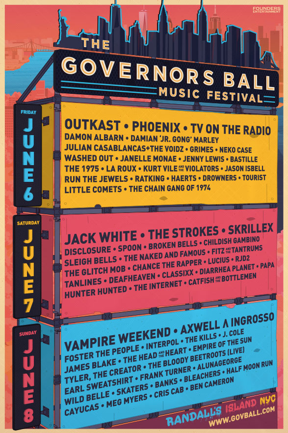 govballday Top 10 Music Festivals in North America: Spring 2014 Power Rankings