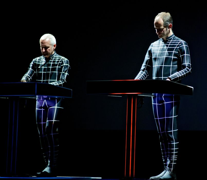 Kraftwerk, photo by Robert Altman