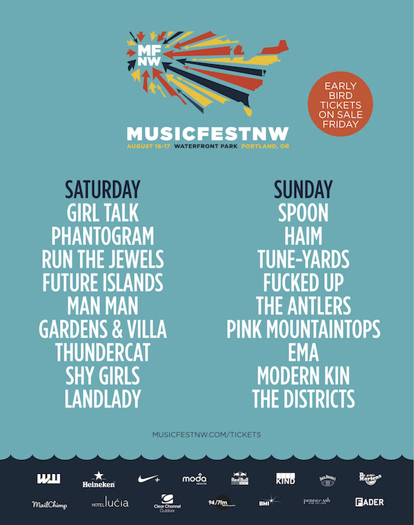 musicfest nw 2014 lineup
