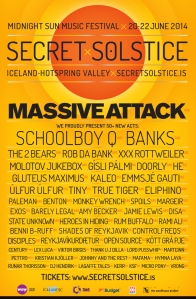 poster ss new Secret Solstice Festival reveals inaugural lineup: Massive Attack, ScHoolboy Q, and more