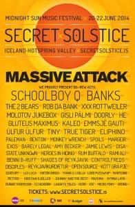 poster ss new Secret Solstice Festival reveals inaugural lineup: Massive Attack, ScHoolboy Q, and more