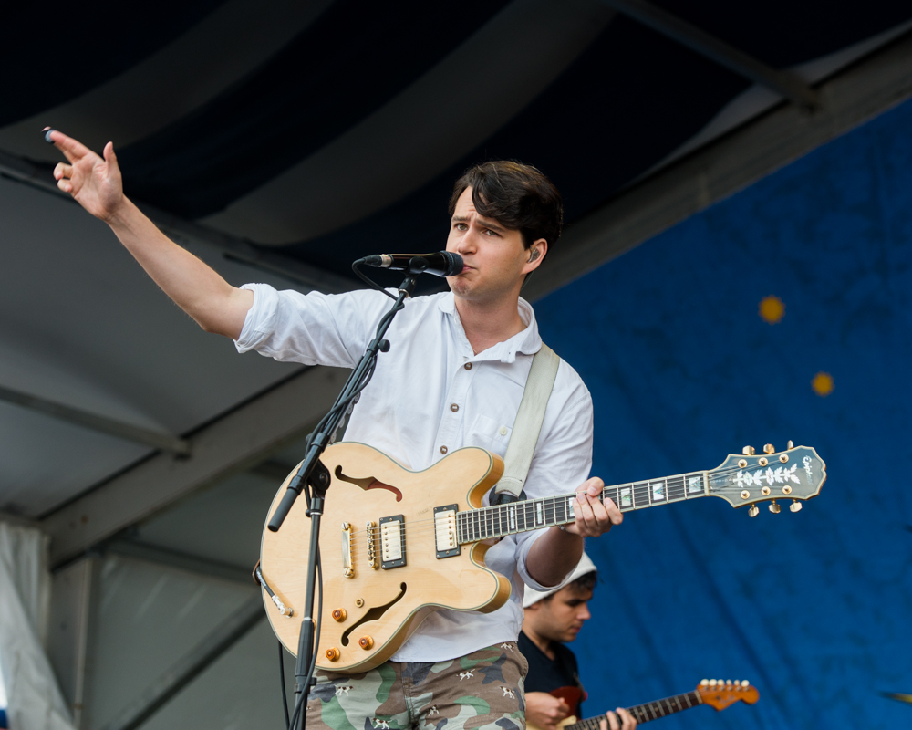 Vampire Weekend almost done with new album