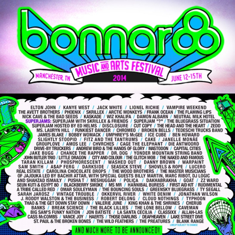 bonnaroo2014 Win tickets to Bonnaroo Music and Arts Festival 2014