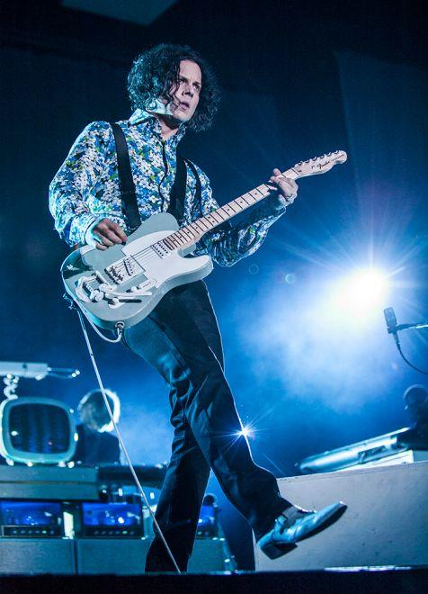 Jack White // Photo by David Hall