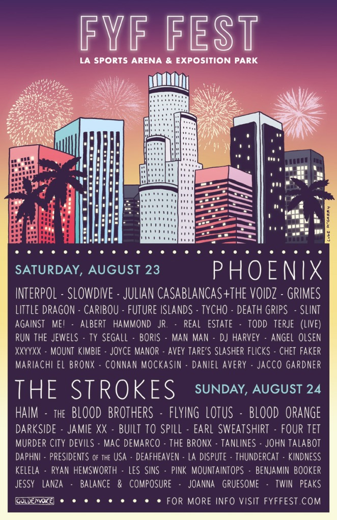 2014 poster The 10 Best Rare Gets for 2014 Music Festivals