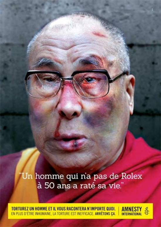 dalailamaamnesty Iggy Pop tortured by Justin Bieber in Amnesty International campaign