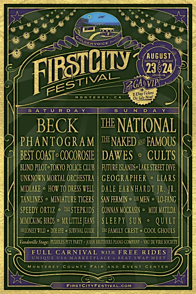 firstcitylineup Win tickets to First City Festival 2014